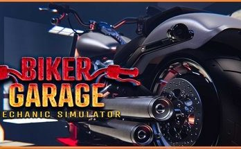 Biker Garage Mechanic Simulator Free Download PC Game