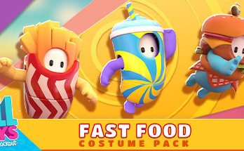 Fall Guys Fast Food Costume Pack Game Free Download